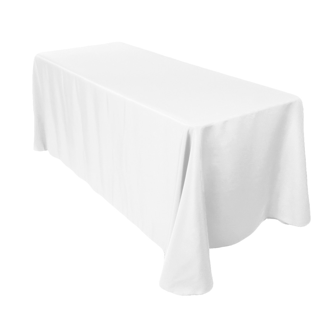 90-x-132-inch-rectangular-polyester-tablecloth-white-  sc 1 st  Novus Events & White Trestle Table Cloth Hire - Novus Events