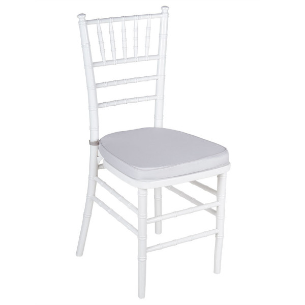 white chivari chair hire