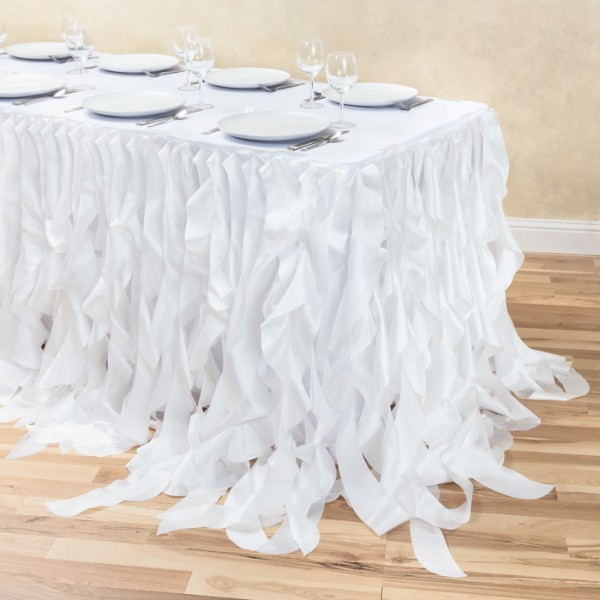 white willow table skirt