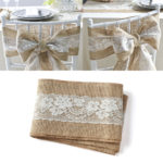 Hessian wedding sashes